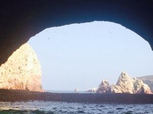navegación por las islas ballestas