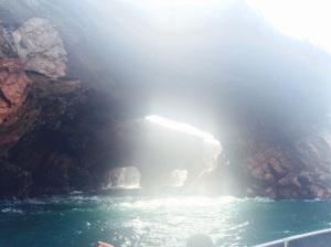 Mar de las isla ballestas