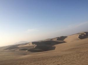 Dunas en el desierto de Huacachina