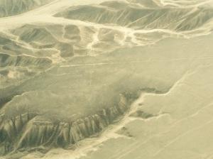 vista aérea desde avioneta Nazca