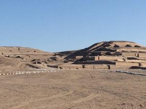 ruinas de cahuachi, Nazca