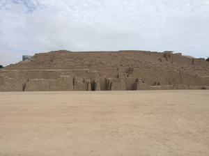 Huaca Pucllana, vista pirámide