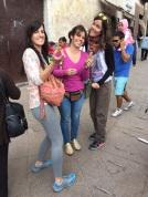 Belén, Cristina y yo