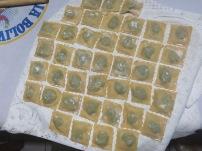 Preparando la pasta para venderla al día siguiente