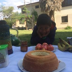 Los bizcochos en Bolivia me han salido más ricos que en Perú