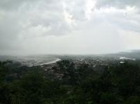 Villa Tunari a punto de caer una gran lluvia