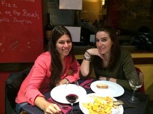 """Llegar a Madrid e inevitablemente ir a """"vinos de Bellota"""" unos de mis sitios favoritos de Madrid"""