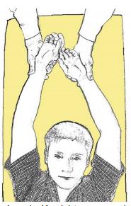 Como quedan los brazos ante un reflejo positivo