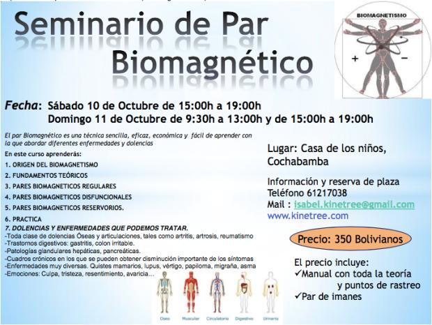 Seminario Par biomagnétco
